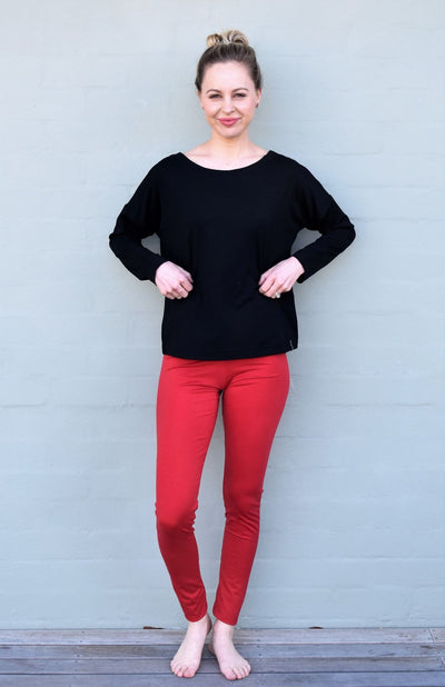 High Waisted Leggings - Lightweight 210gsm