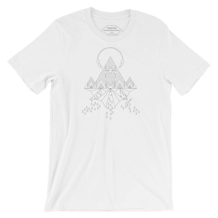 TEES - Temple Of Light Monochrome T-Shirt