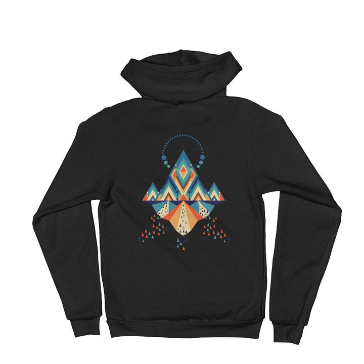 ZIP HOODIES - Temple Of Light Zip Hoodie