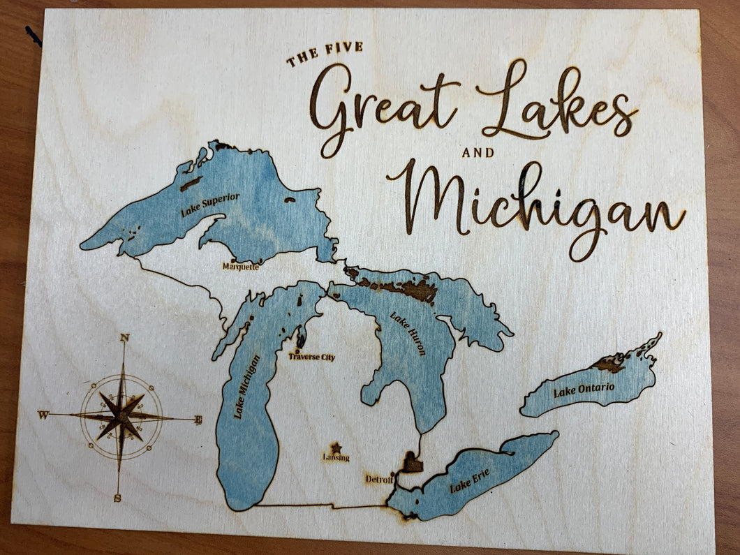 Great Lakes and Michigan Puzzle File
