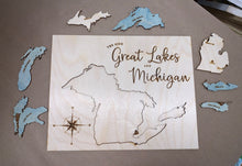 Load image into Gallery viewer, Great Lakes and Michigan Puzzle File