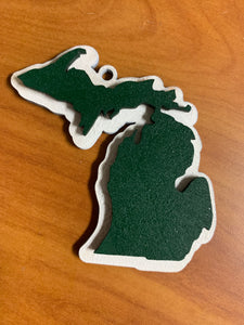 Michigan School Spirit Ornaments