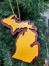 Load image into Gallery viewer, Michigan School Spirit Ornaments