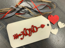 Load image into Gallery viewer, DIY Valentine Tag Take Home Kit (set of 4)