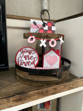 Load image into Gallery viewer, Valentine Tiered Tray Kit