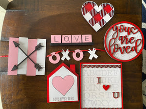 Valentine Tiered Tray Kit