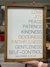 Load image into Gallery viewer, Love Joy Peace; Galatians