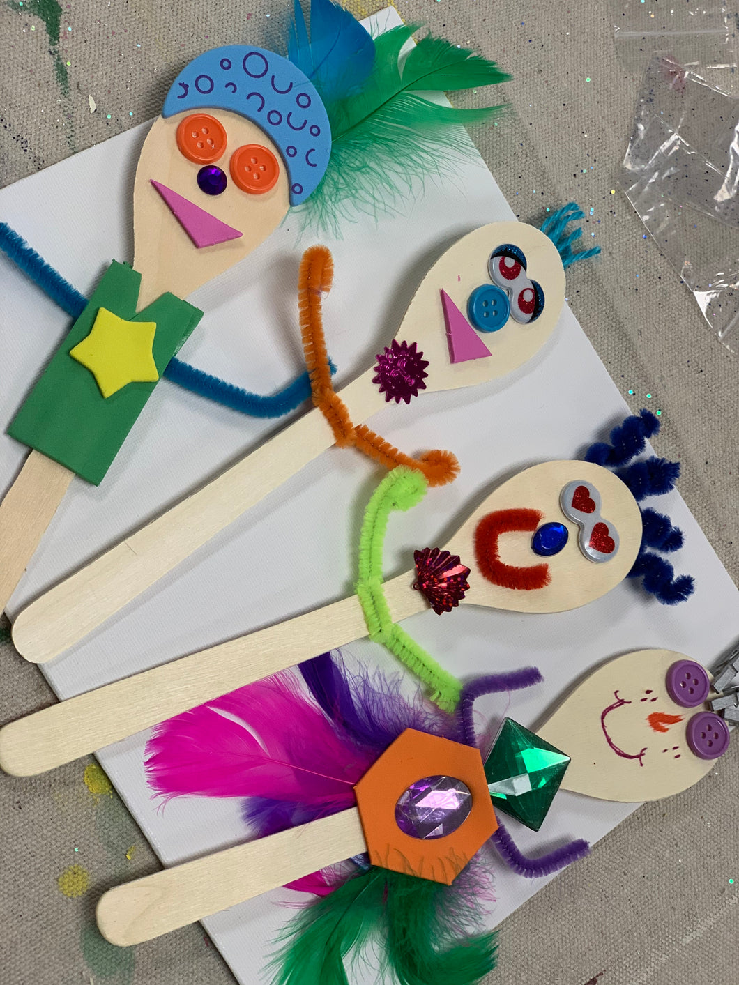 Wooden Spoon Puppet Kits