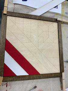 Take Home Patriotic Barn Quilt