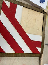 Load image into Gallery viewer, Take Home Patriotic Barn Quilt