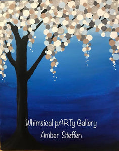 Paint & Sip @ The Whimsical pARTy Gallery