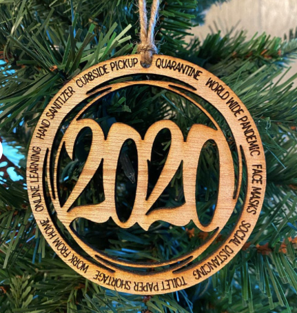 2020 Pandemic Ornament