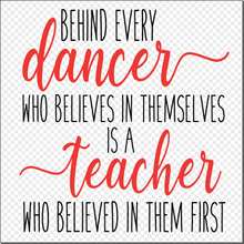Load image into Gallery viewer, Digital Download: Dance Teacher