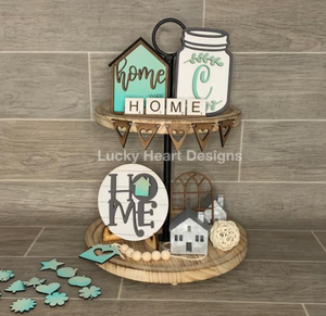 Home Tiered Tray Kit