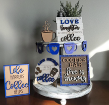 Load image into Gallery viewer, Coffee Lover's Tiered Tray