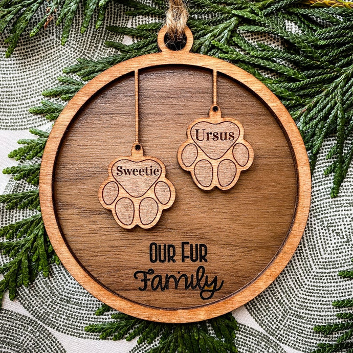 Fur Baby Ornament