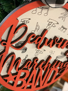 Redwing Marching Band Ornament