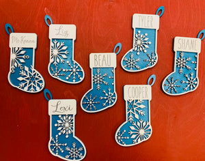 Personalized Stocking Ornament