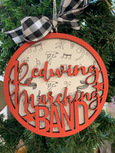 Load image into Gallery viewer, Redwing Marching Band Ornament