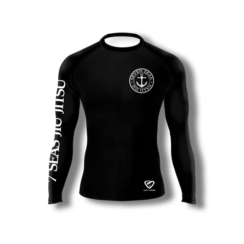 Seven Seas Jiu Jitsu Official Rash Guard