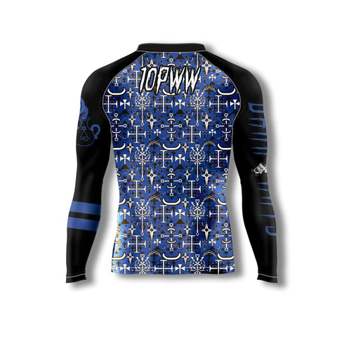Dark Arts Rash Guard - Blue Belt