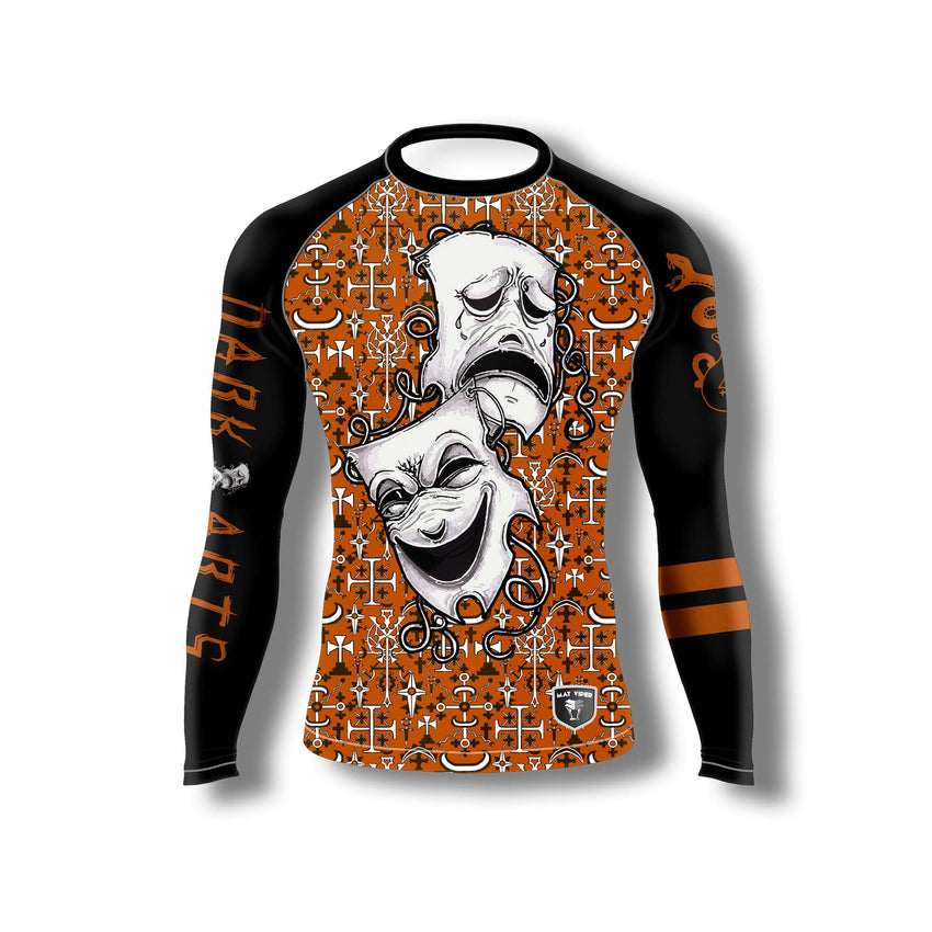 Dark Arts Rash Guard - Brown Belt