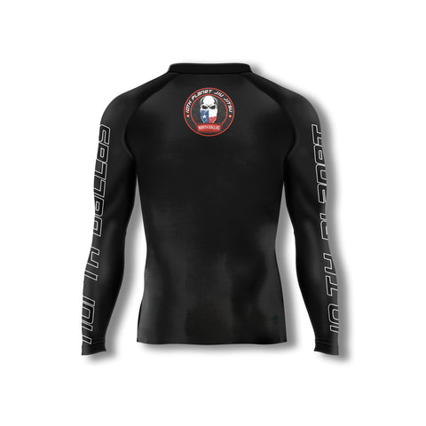 "10P North Dallas ""Skull"" Rashguard"