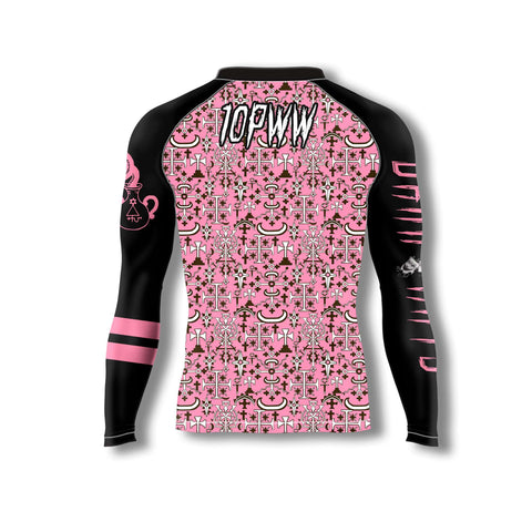 Dark Arts Rash Guard - Pink