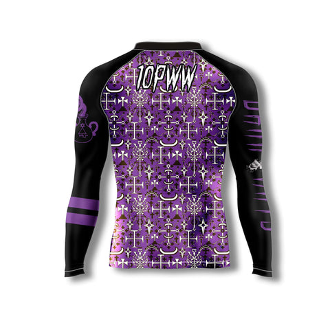 Dark Arts Rash Guard - Purple Belt