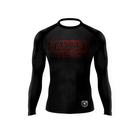 "Matt Schnell ""Danger Things"" Rash Guard"