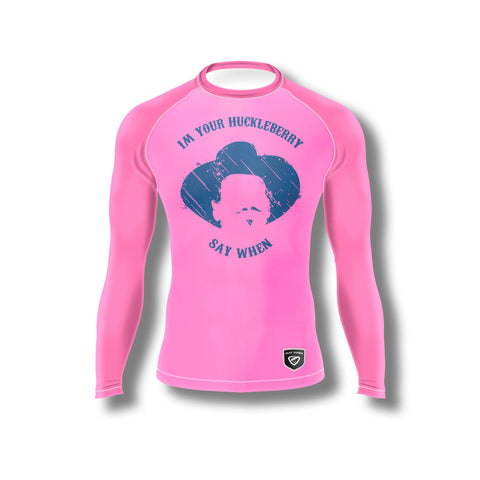 Huckleberry Pink Long Sleeve Rashguard