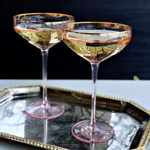 Champagne Martini Coup Box of 4