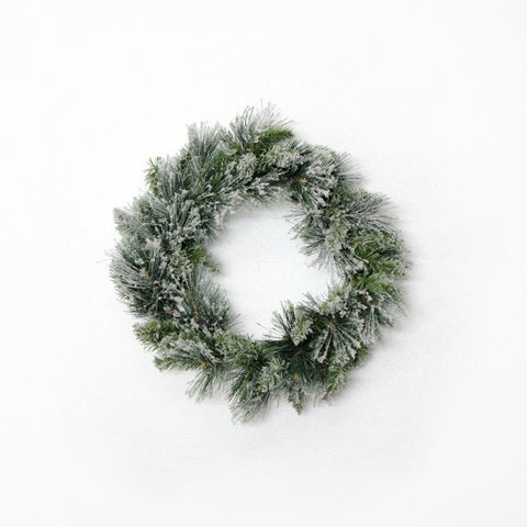 Fir snow wreath