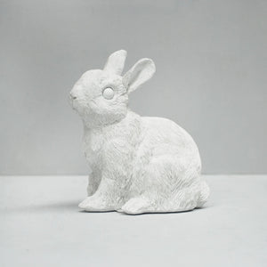 Bunny Money Box White