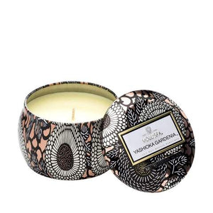 Voluspa small tin candle