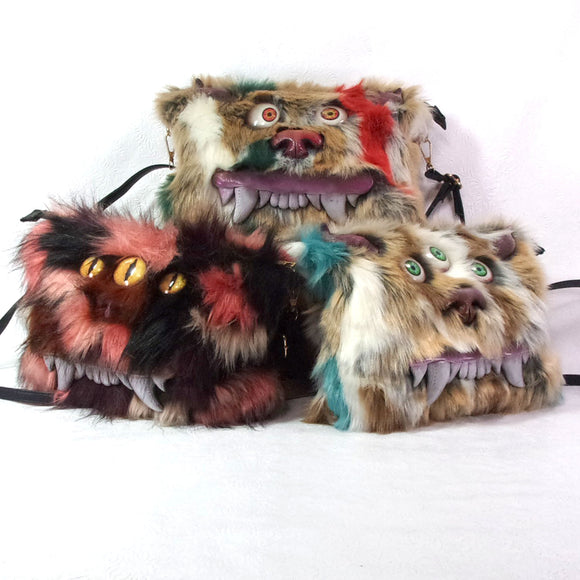 Monster Bag (Crossbody Bag of the Apocalypse)