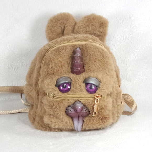 Monster Backpack (Great Horned Bunny Backpack)