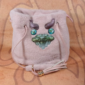 Monster Bag (Fiesty Pink Tassle Beast)