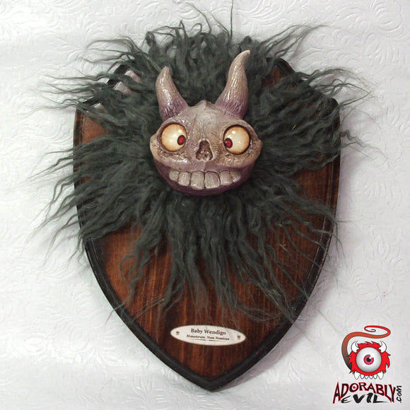 Baby Wendigo Trophy Wall Art