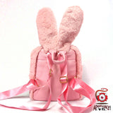 Bunny Backpack (Pink Angry Bird Edition)