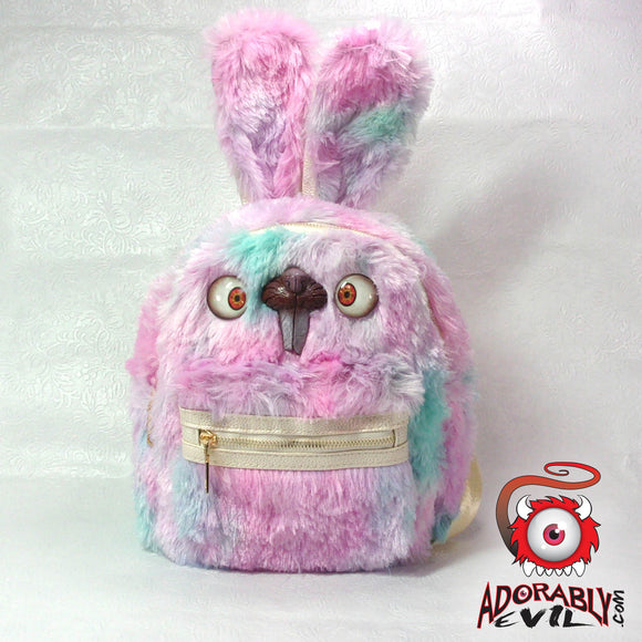 Bunny Backpack (Light Rainbow Bunny Edition)