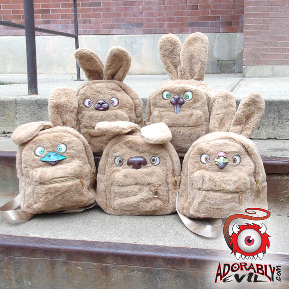 Customizable Bunny Backpack