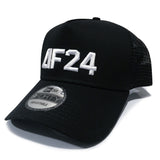 AF24 New Era® Snapback Trucker - Black