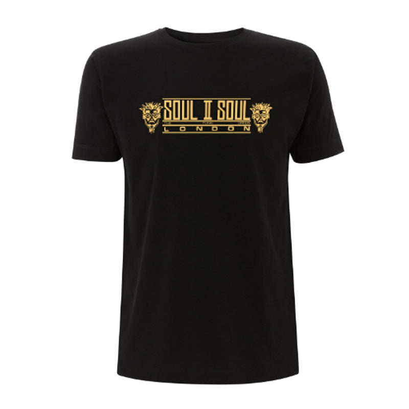 SOUL II SOUL LONDON - BLACK / GOLD FOIL