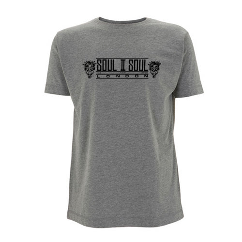 SOUL II SOUL LONDON - GREY MÉLANGE / BLACK