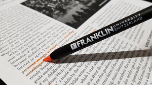 Bookmark and pencil