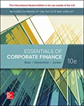 ISE Essentials of Corporate Finance