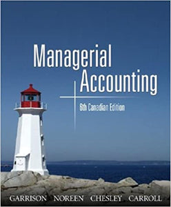 Managerial Accounting USED