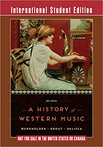 A History of Western Music USED