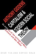 Capitalism and Modern Social Theory USED